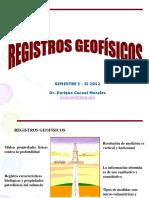 Registro Geofisicos; Concepto, Caracteristicas...