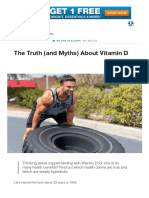 The Truth (and Myths) About Vitamin D