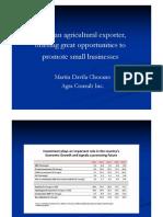 Peru, An Agricultural Exporter Beta [Modo de ad