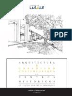 ARQUITECTURA & URBANISMO CONTEMPORÁNEO en CENTROS HISTÓRICOS COLECCIÓN HÁBITAT & PATRIMONIO