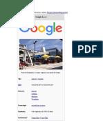 Google Cosas Coosas