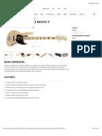 American Elite Jazz Bass® V   Electric Basses