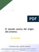 Diapositivas del Origen del Universo 2do de Secundaria