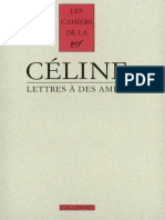 Lettres à des amies Celine