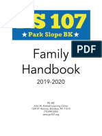 family handbook 2019-20