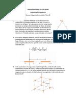 Examen de Fisica 3