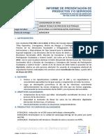 Informe de Presentación de Productos - Contratos Civiles