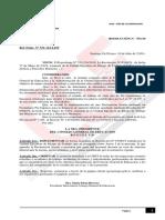 Resolucion N 551-19 Por La Que Se Implementa La Resolucion N 0398-19 de La UERT Sobre Declaracin Jurada Por Siniestro Laboral