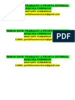 Pedagogia 7 e 8 Temos a Pronta Entrega Este Portfólio Whatsapp 91988309316 E-mail Portfoliouniversitario@Gmail