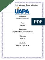 TAREA 1 Practica Docente II