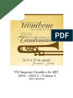 anais de trombone