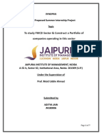 Aditya Jain Findings and Observations Pgdm-section-A Jn180006