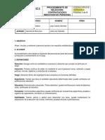 Pr-010 Seleccion Contratacion e Induccion de Personal v2