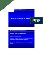 Análise Estrutural Na NBR 6118 - EESC