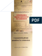 Cenzurarea presei ortodoxe in comunism. Bucuresti