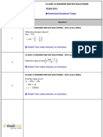 Class 12 solutions
