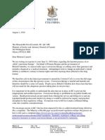 MinisterLametti Letter