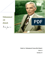 Quaid-e-Azam (History Project)