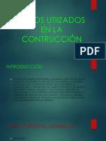 Tubos Utiizados en La Contrucción