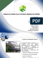 exposicion de los medidas de control en colombia