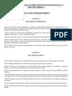Sección Segunda de Los Preceptos Deontológicos en La Práctica Médica