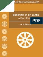 Wh100 Perera Buddhism in Sri Lanka History