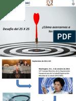 Desafío 2025 Como Acercarnos a Las Metas - Ricardo López Santi