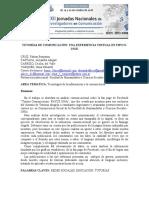 TUTORÍAS DE COMUNICACIÓN