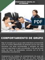 3 Comportamiento Grupal en La Empresa