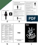 Manual de Usuario de El Micro de La Voz Telecinco