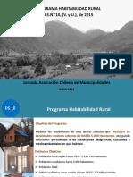 Programa Habitabilidad Rural