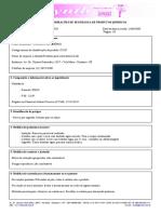 FISPQ- Cloreto de Amonio