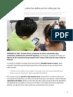 31-07-2019 El Isssteson alerta sobre los daños en los niños por los retos virales - El expreso