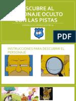 APOYO N° 88 Y 90 MATEMÁTICA DESCUBRIR ELEMENTOS CON PISTAS