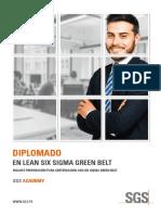 Brochure Diplomado Lean Six Sigma