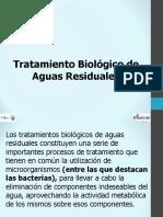 Tratamiento Biologico de aguas residuales
