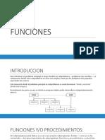 Clase - Definiendo Funciones