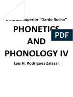 Phonetics 4 - Study Cheat-sheet 2019
