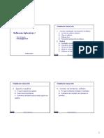 01 - Softwares Aplicativos I
