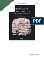 Historia de las matemáticas - Ian Stewart (notas)