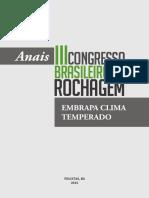 Anais III Congresso de Rochagem