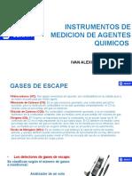 Instrumentos de Medicion de Agentes Quimicos