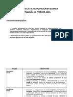 Rúbrica Holística Evaluación Integrada