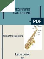 beginning sax pp - lesson 1