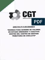 Directiva 01 006 00000074 Chiclayo