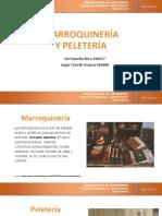 Exposición 5. Marroquinería