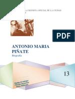 Biografia de Antonio María Piñate