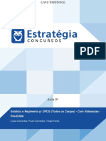 Aula 01 - Estatuto da UFCG – Parte 2 – Prof° Paulo Guimarães