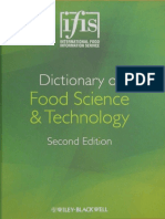 Muestra Dictionary of Food Science and Technology 2nd - IfIS Publishing