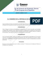 Reformas Al Código de Comercio, Decreto 18-2017